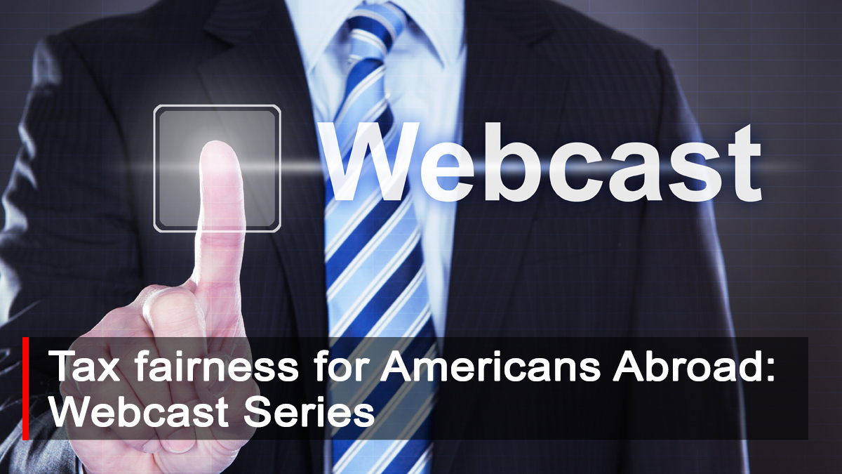 Webcasts for TFAA Tax Legislation